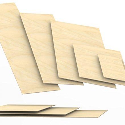 3mm Sperrholz-Platten Zuschnitt Länge bis 150cm Birke Multiplex-Platten Zuschnitte Auswahl: 100x50 cm
